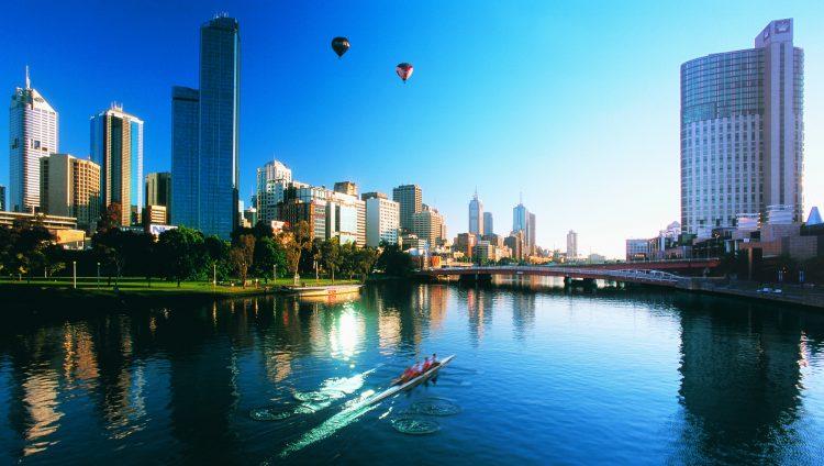 Aerial Melbourne Landscape