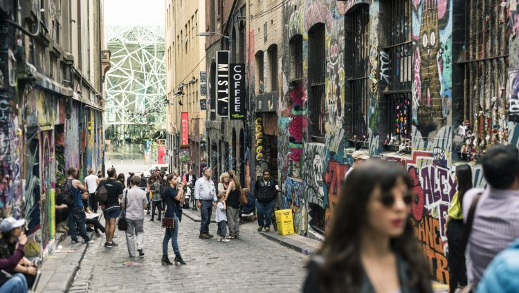 Major Events Visitor Experience Laneway