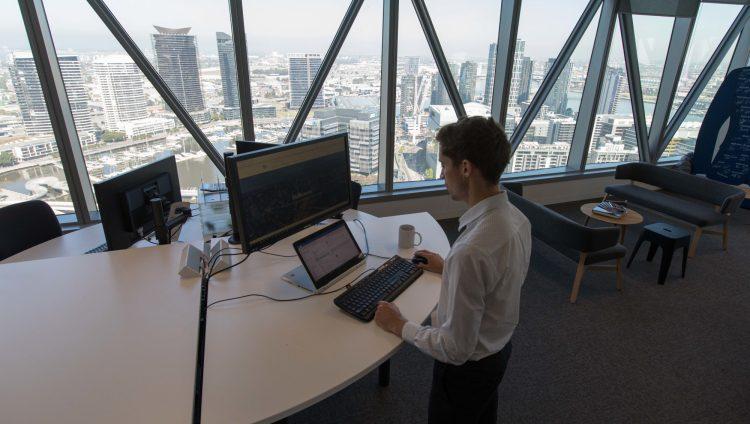 Office Ergonomic Desk Standing 1